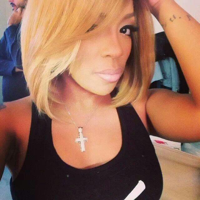 K.Michelle hair is always laid..