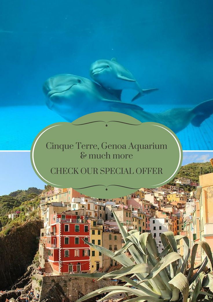 For a minimum stay of three nights, from October 7th 2015 to April 21st 2016, come and enjoy both the area of the Cinque Terre, especially charming and quiet this time of the year, that the splendid Aquarium of Genoa!  This special offer includes: * three nights in a double room * breakfast * parking place in the basement * an entrance ticket per person for the Genoa Aquarium * one daily Cinque Terre Card Train per person for one day  Click here to check rates and book