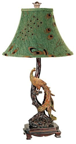 Peacock Table Lamp with Green Shade , http://www.amazon.com/dp/B0009N8HX0/ref=cm_sw_r_pi_dp_Z0Ydrb1RMJ290