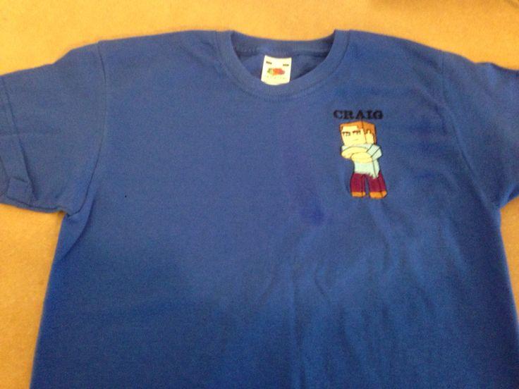 Royal blue tshirt