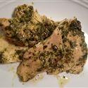 Fall apart chicken in the crock pot.......Pesto Ranch Chicken