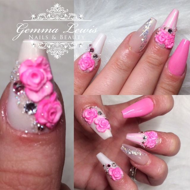 Candy Nails  by GemLew31