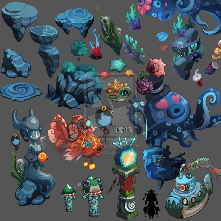 The seabed material by ATFZ.deviantart.com on @DeviantArt