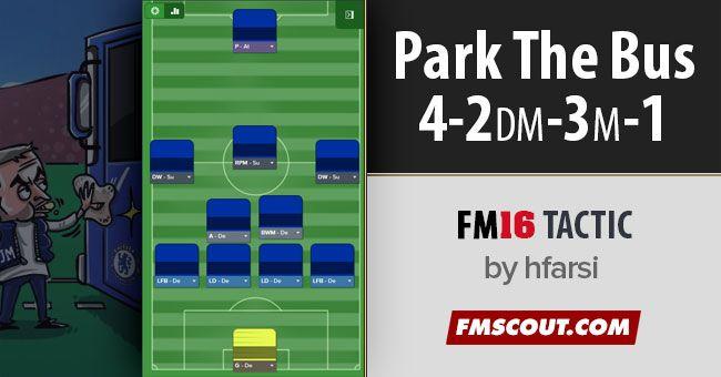 Park the Bus 4-2-3-1 Mourinho Style