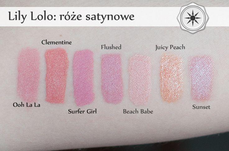 Hedonizm & Eskapizm @lilylolouk @costasy.pl @beautyblogger #swatches #mineralmakeup #makeup #kosmetykimineralne #kosmetykinaturalne #greenbeauty #unaweblog.pl