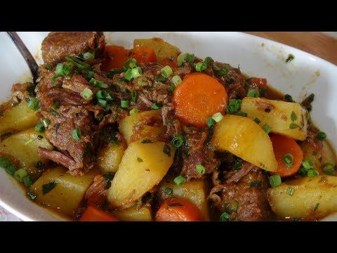 ▶ Receita de carne de panela com cenouras e batatas - YouTube