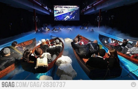 Titanic in 6D, and this couldn't have been me!!!!