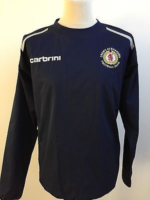 CREWE ALEXANDRA Football Training Jacket Coat CARBRINI Size XL  | eBay