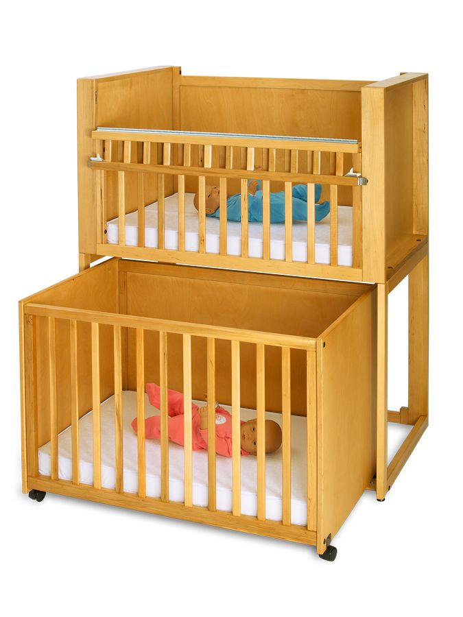 25 best images about cribs for twins on pinterest desk for Best baby cribs for small spaces