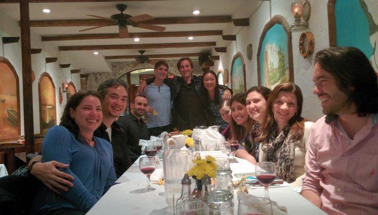 Zenon Taverna in Astoria, NY 5 Boro Dinners  N/Q Lines March 27, 2015