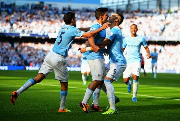 Premier League: Man City 4-1 Man United