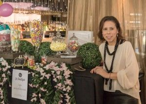 Lucy Laurita from ART du JOUR by Leiela & Leiela Ladies Evening Wear - Candy Bar at Le Boutique
