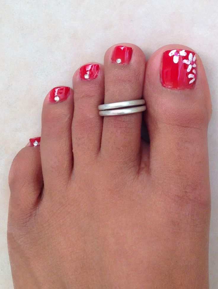 My Beauty Journal: Cute and Simple Pedicure Design