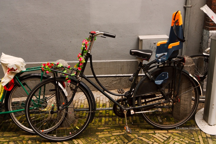 Artistic Biker in Amsterdam