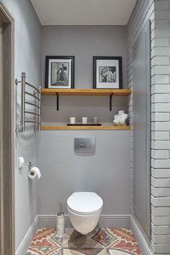 Contemporain Toilettes Современный Туалет