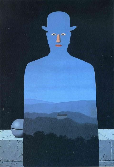 El rey museo, 1966 de Rene Magritte (1898-1967, Belgium)