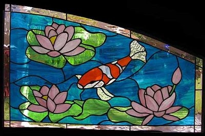 17 best images about koi stained glass on pinterest for Koi pond insert