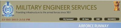 GOVERNMENT JOBS: 187 JOB VACANCIES WITH MILITARY ENGINEER SERVICES
