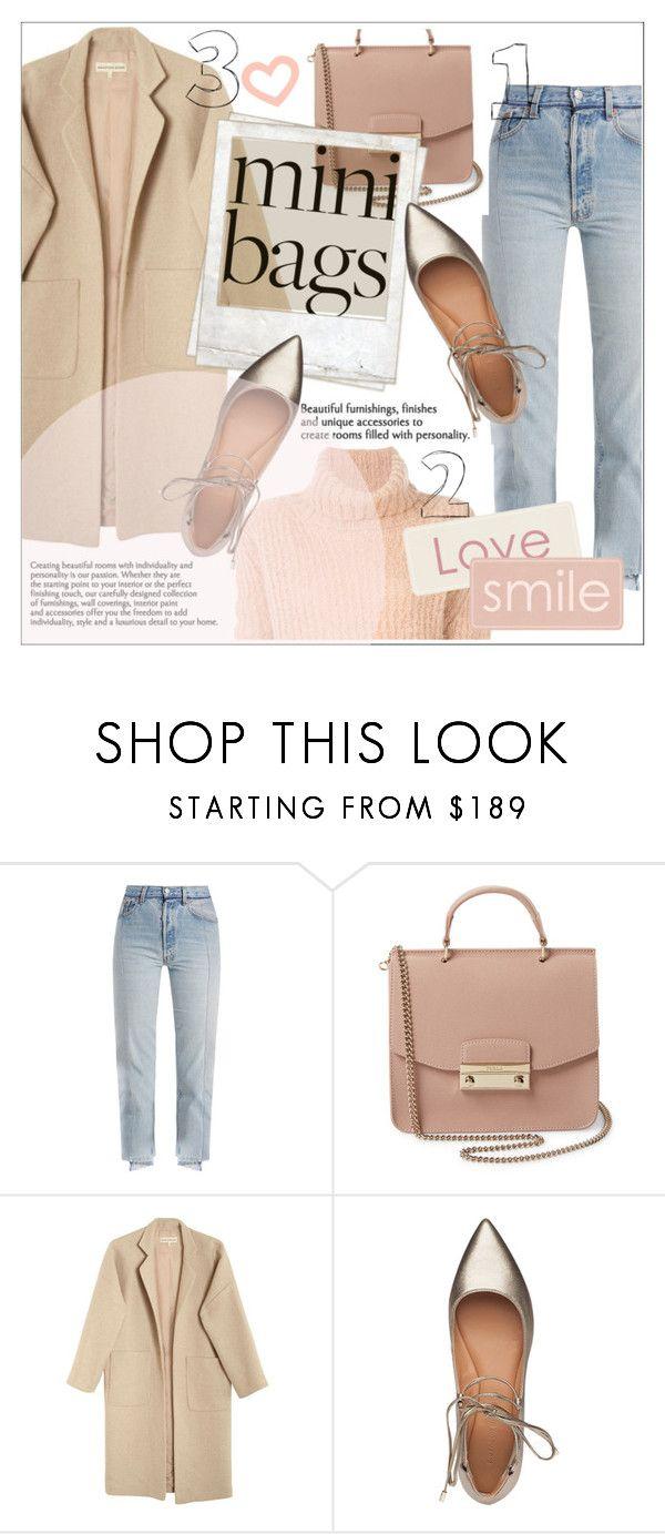 """cute bag♡mini bag"" by saramoradi210 ❤ liked on Polyvore featuring Vetements, Furla, Mara Hoffman, Polaroid, Sigerson Morrison, Ann Demeulemeester and MiniBag"