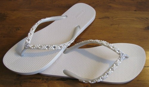 perfect for a beach wedding... who will see them anyway :)