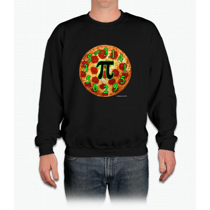 Pizza Pi Crewneck Sweatshirt