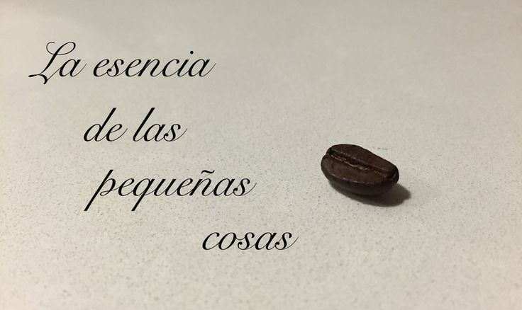 La #esencia de las pequeñas cosas ;) #coffee #café #pequeñascosas #littlethings