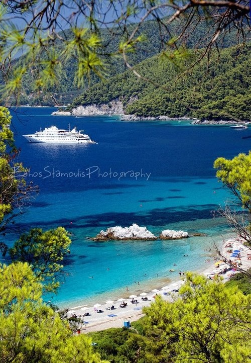Skopelos #Greece #travel #summer #beach