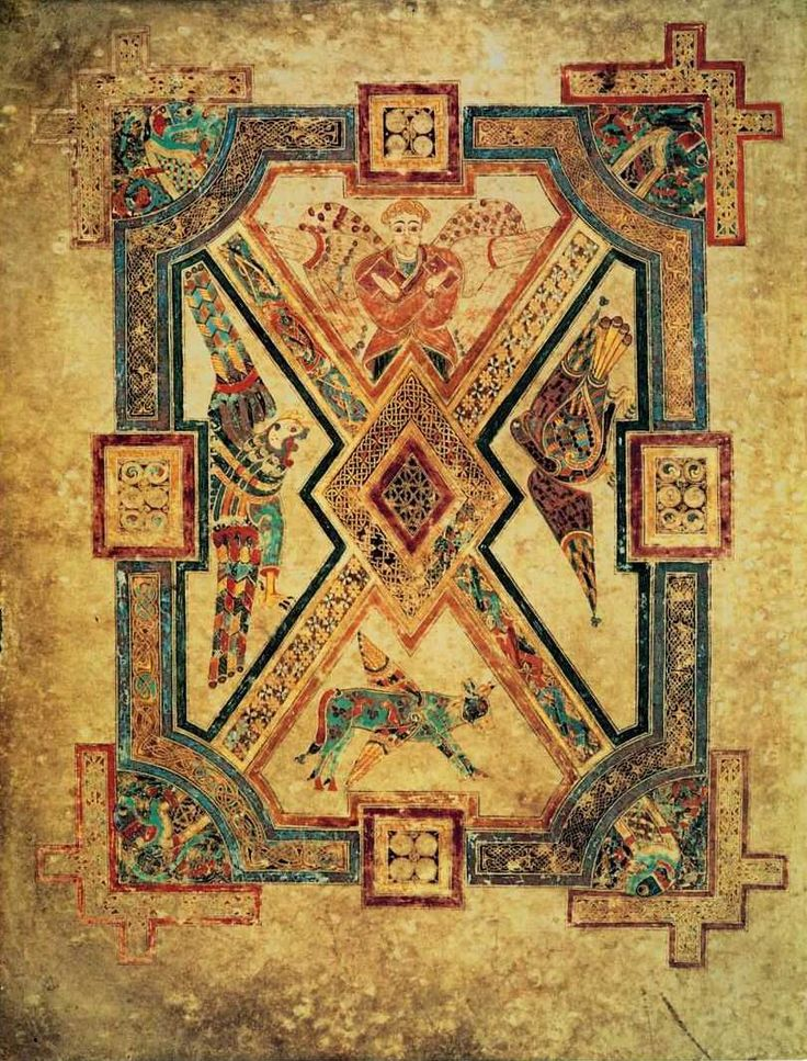 9 Best Images About Book Of Kells On Pinterest