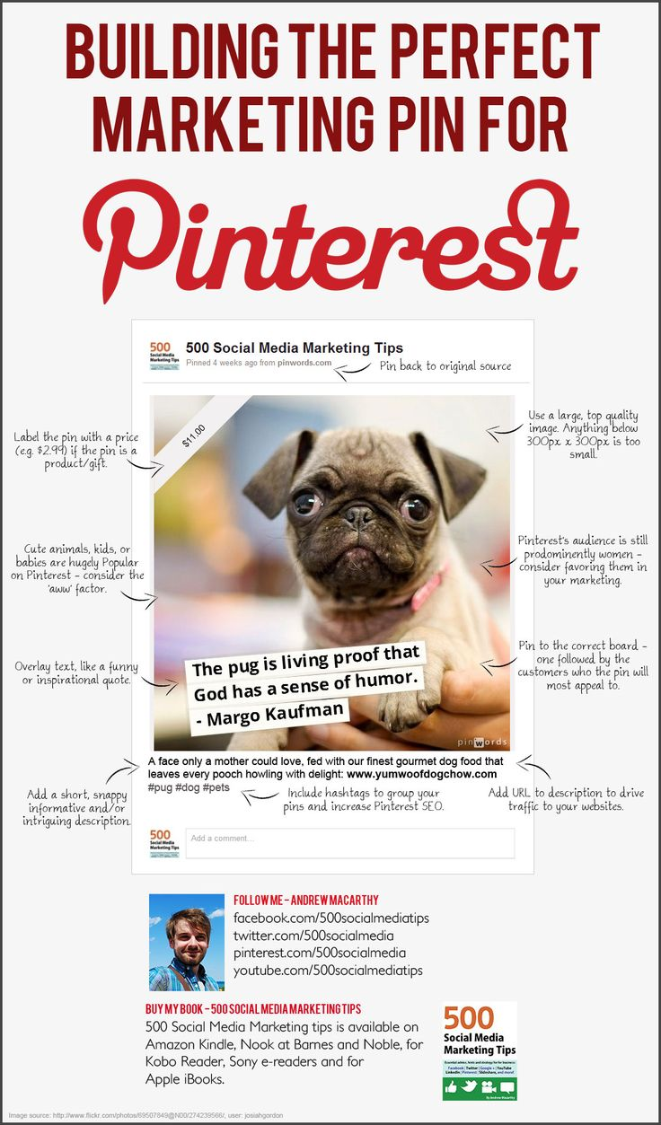 Building the perfect marketing pin for #Pinterest #infographic