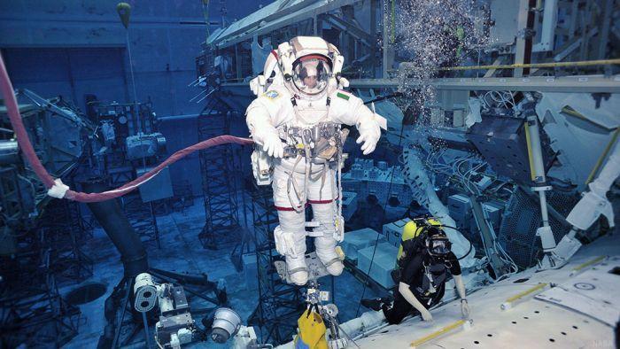 Cómo entrenar un astronauta?