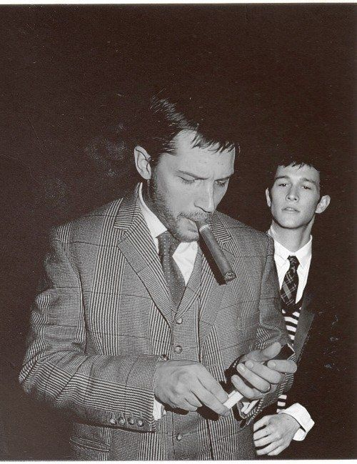 Tom Hardy and JGL yessss
