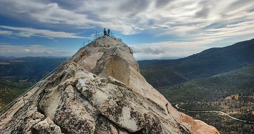 Cuyamaca Stonewall Peak @ Descanso (easy to moderate, well-maintained trail, trees for shade)