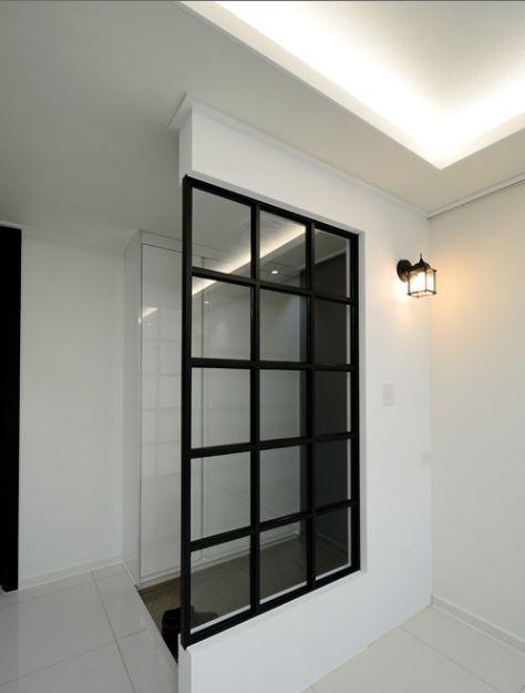 빈티지 아트월! 연산동 LG아파트 32평형 인테리어 시공사례 : 네이버 블로그