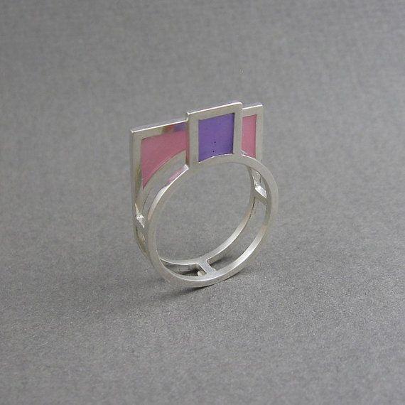 Zilveren cocktail ring opvallende statement ring by MissSilver