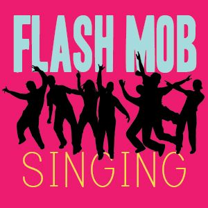 Flash Mob Singing for Primary Singing Time, a modern game for senior children in Primary. They'll have a blast with the unexpected.
