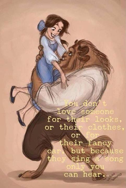 Belle And Beast Love Quotes. QuotesGram
