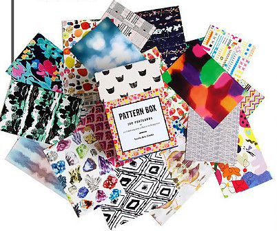 Pattern Box: flash cards of colors and patterns