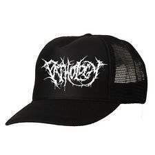PATHOLOGY - Logo TRUCKER CAP US brutal death metal PUTRID PILE LIVIDITY