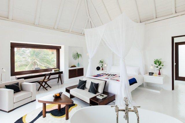 Hotel Esencia chic rooms. Xpuha Beach, Riviera Maya, Mexico.