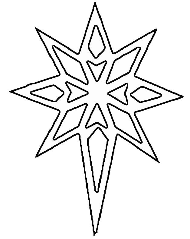 Yule star stuff to color pinterest yule xmas crafts for Paper star cut out template