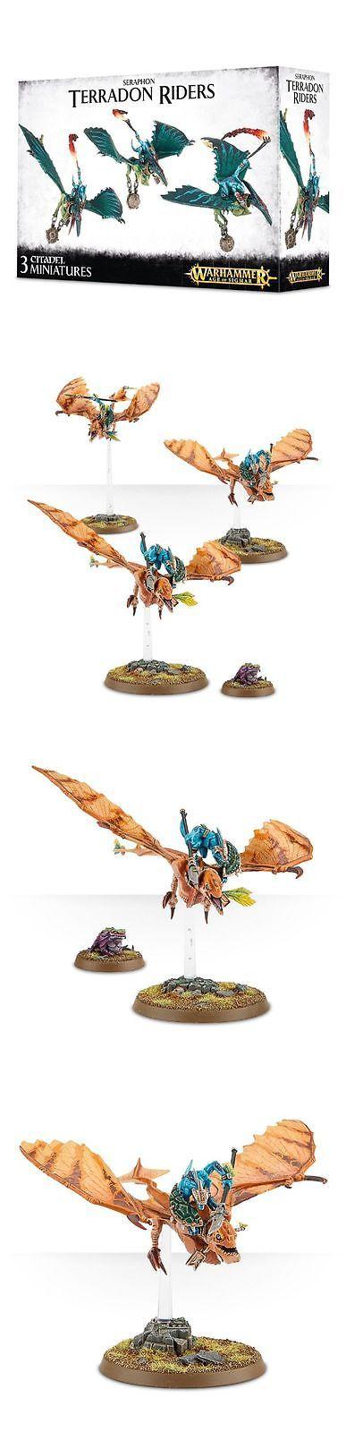 WFB Miniatures 183475: Seraphon Terradon Riders Ripperdactyl Lizardmen Warhammer Age Of Sigmar New -> BUY IT NOW ONLY: $51 on eBay!