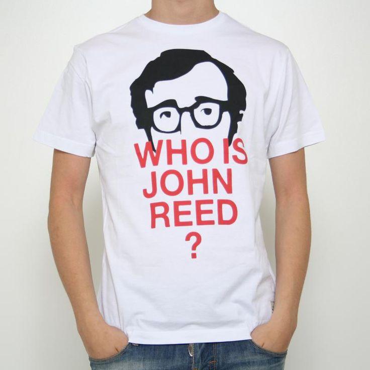 T-shirt John Reed Laguna  T-shirt John Reed Laguna in cotone, manica corta. Stampa frontale raffigurante un volto sotto al quale vi è la scritta :