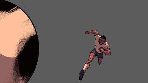 Short sequence of an animation project
