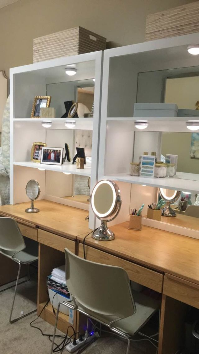 this college dorm room has gone viral for being insanely extravagant - Dorm Room Desk Ideas