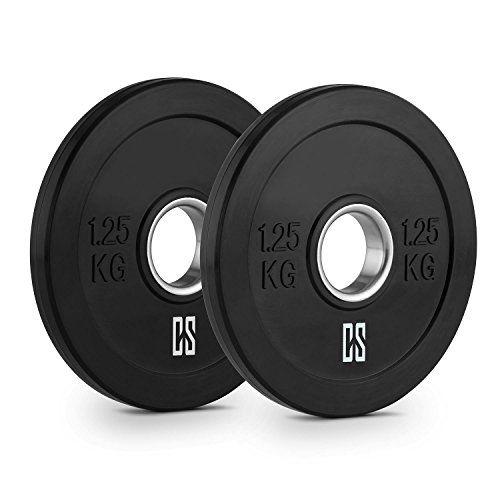Resistentes placas Bumper de goma dura resistente. Dos discos de pesos con abertura de 50.4 mm, ideales para cualquierbarra olímpica o Cross-Training. Discos de peso de goma con protección para el suelo, pocoretroceso, perfectos para Weight-Drops / Saques. Duraderos, resistentes y con gran c... http://gimnasioynutricion.com/maquinas/mancuernas/discos-olimpicos/capital-sports-bumpee-1-25-bumper-plate-par-discos-de-pesas-1-25kg-2x-placa-de-peso-goma-dura-resistente-poco-retro