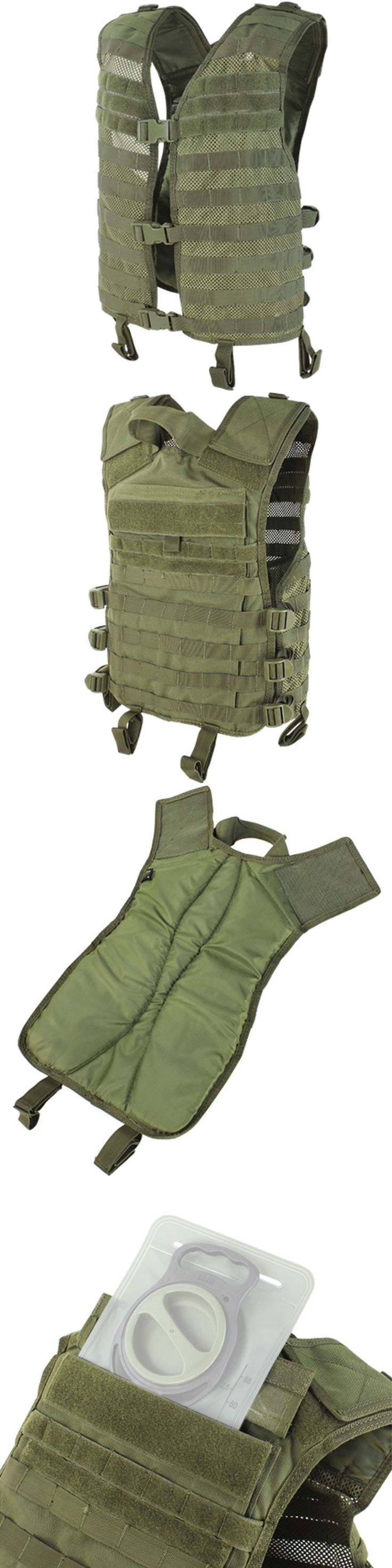 Clothing and Protective Gear 159044: Condor Outdoor Mhv-001 Modular Hydration Molle Pals Military Tactical Vest Od -> BUY IT NOW ONLY: $41.95 on eBay!