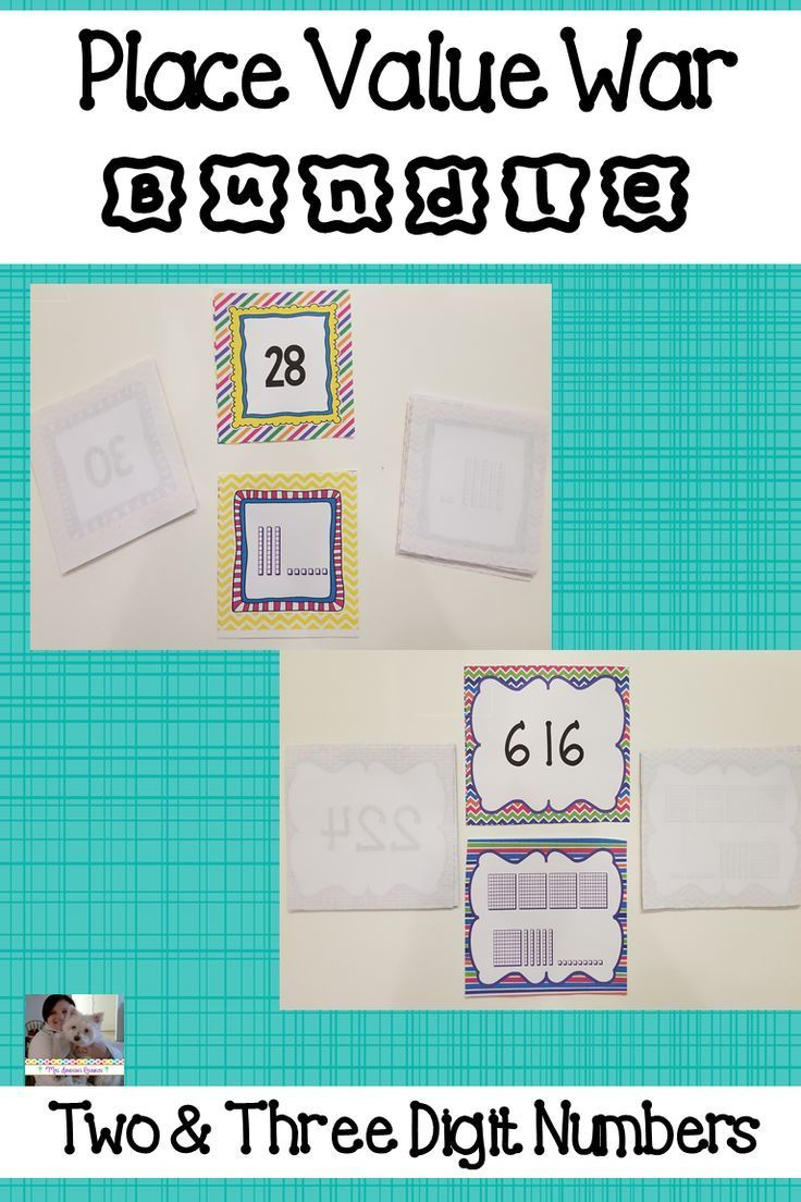 The 25 best numbers in standard form ideas on pinterest numbers place value war bundle falaconquin