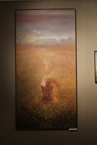 160 cm x 80 cm obraz olejny / oil painting by Leszek Gesiorski