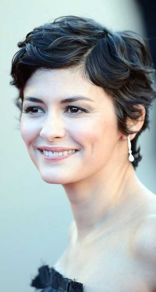 Audrey Tautou Thick Wavy Pixie                                                                                                                                                                                 More