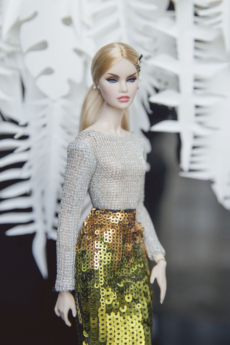 https://flic.kr/p/SuZnx1 | Erin - outfit by Rimdoll | www.etsy.com/listing/524392599/silver-jumpsuit-and-sequin...